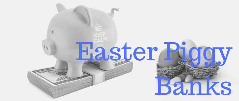 Cheap Easter Piggy Banks